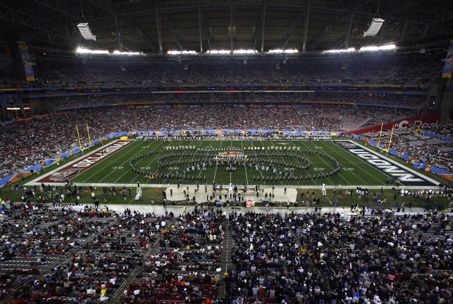 The UCMB performs at the Tostitos Fiesta Bowl on January 1, 2011 in Glendale, AZ.